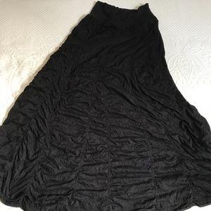 rushed black skirt . surrealist